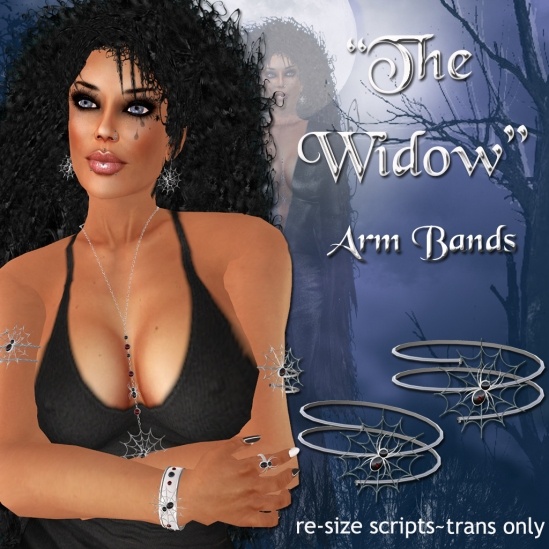 """The Widow"" Arm Bands"