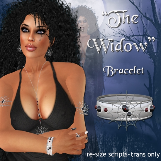 """The Widow"" Bangle Bracelet"