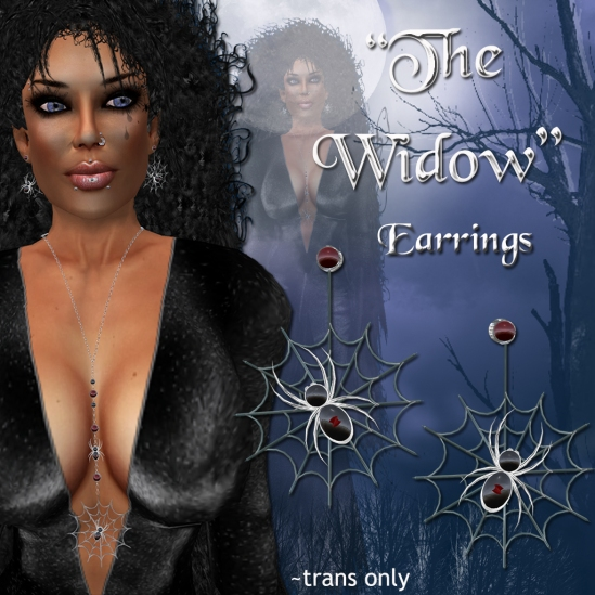 """The Widow"" Earrings"
