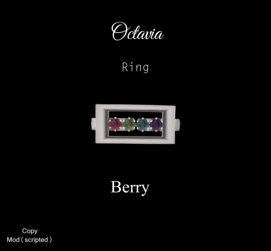 Octavia Ring-Berry