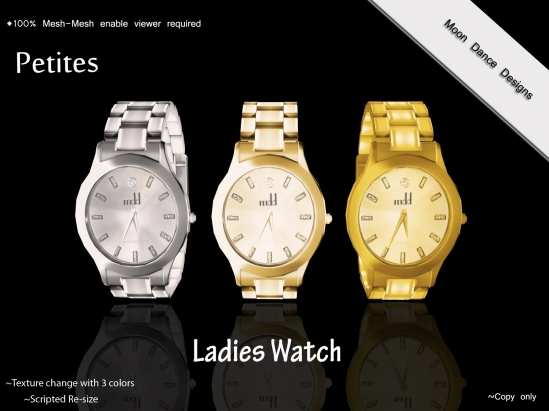 Ladies Watch-Mesh PETITES
