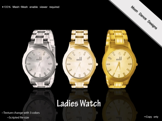 Ladies Watch-Mesh