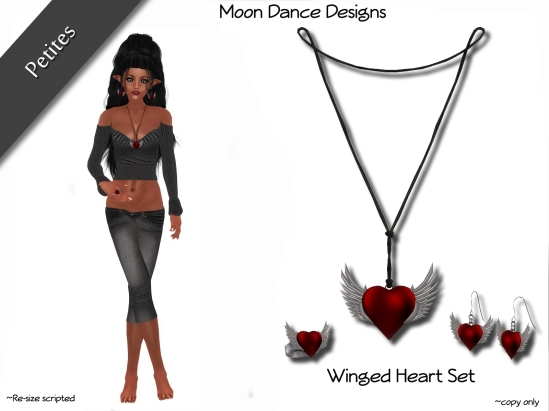 Winged Heart Set-PETITES