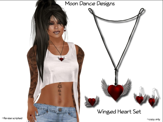 Winged Heart Set
