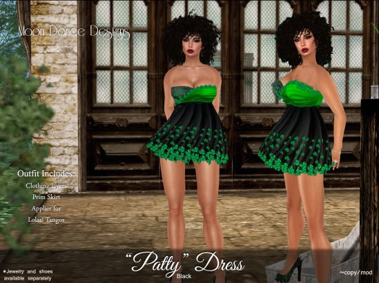 Patty Dress-Black