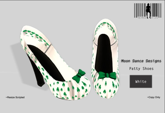 Patty Shoes-White