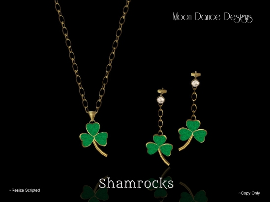 shamrocks set