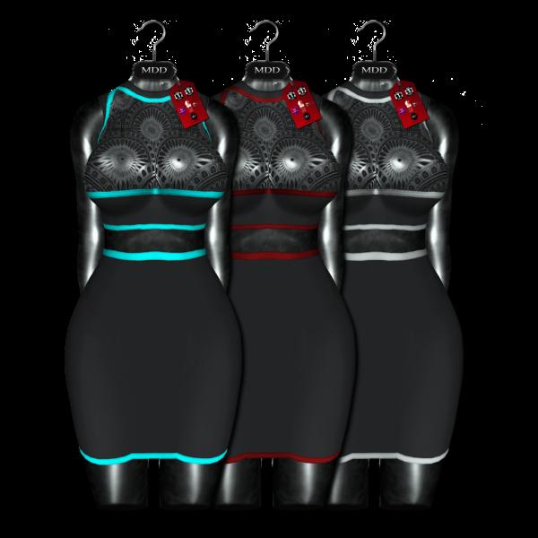 Ulyana Dress Contrast V2 Pack